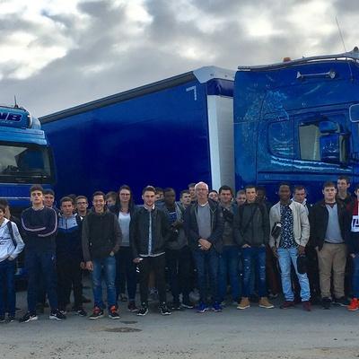 Les Bac pro maintenance VTR-MEV aux 24h du Mans Camions
