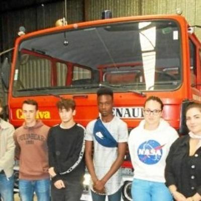 Les élèves pompiers ont fait leur rentrée