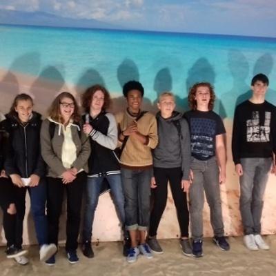 Les élèves d'' ULIS à CUBA