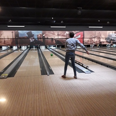 Les internes au Bowling