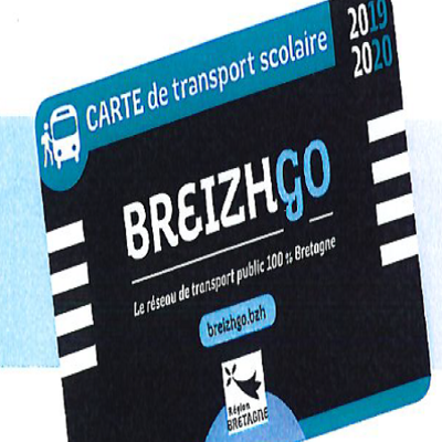Transport scolaire 2019 -2020