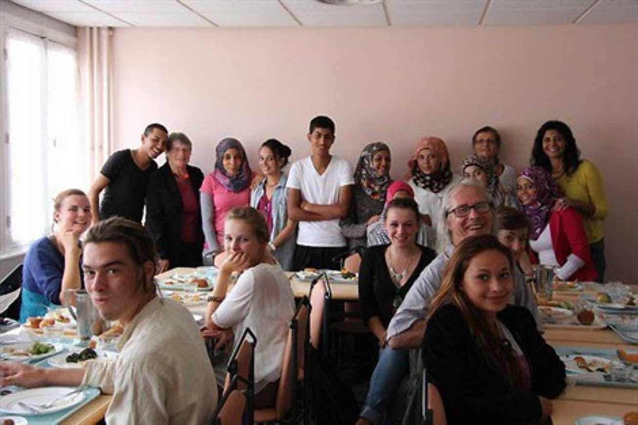 Journée d''échanges entre Palestiniens et lycéens (OF) 0