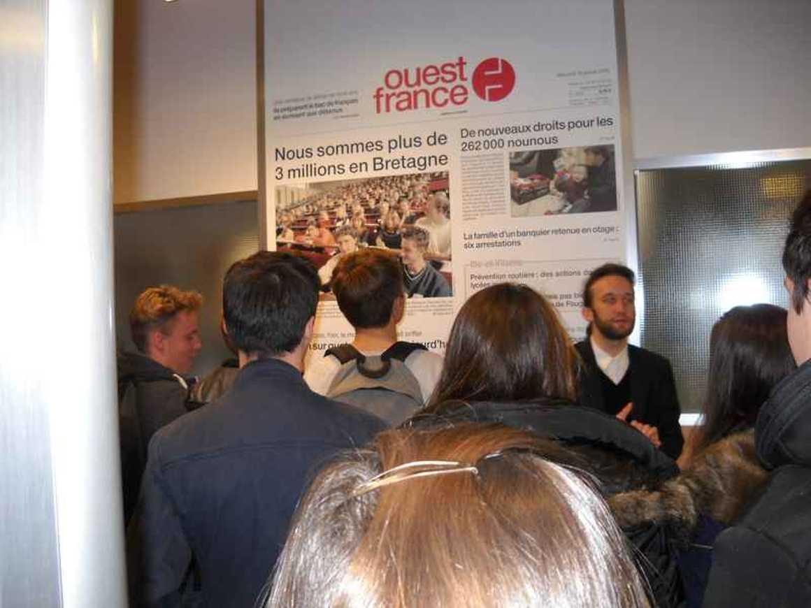 Des secondes ont visité le site d''impression de Ouest France dscn5062