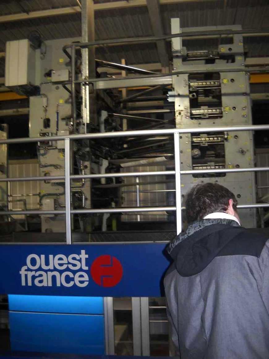 Des secondes ont visité le site d''impression de Ouest France dscn5069