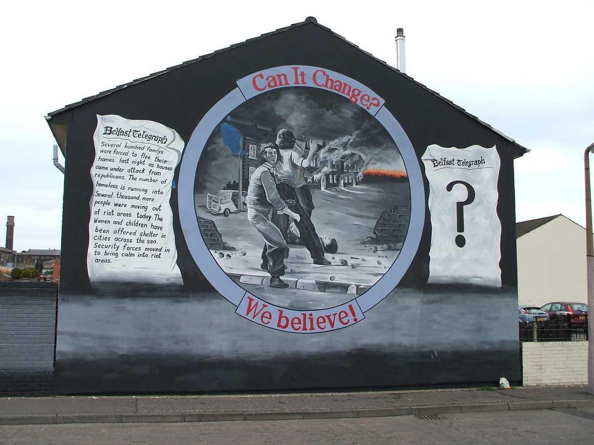 Les fresques murales d''Irlande du Nord 0