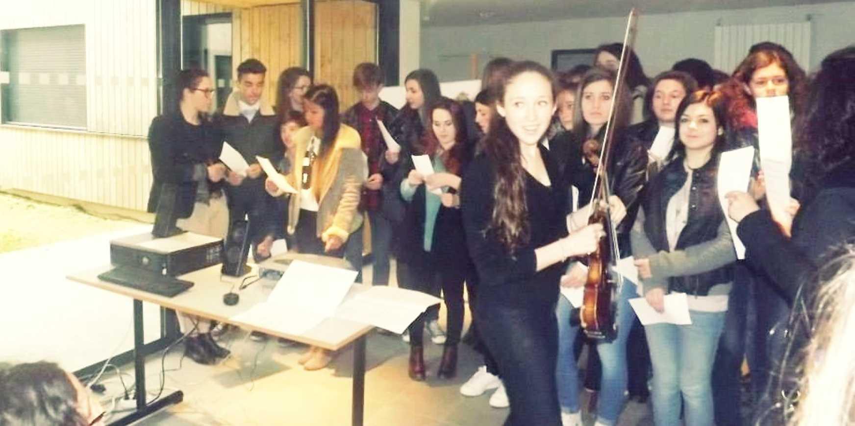 Du 31 mars au 4 avril, les élèves français ont reçu leurs correspondants espagnols fotomiercoles1