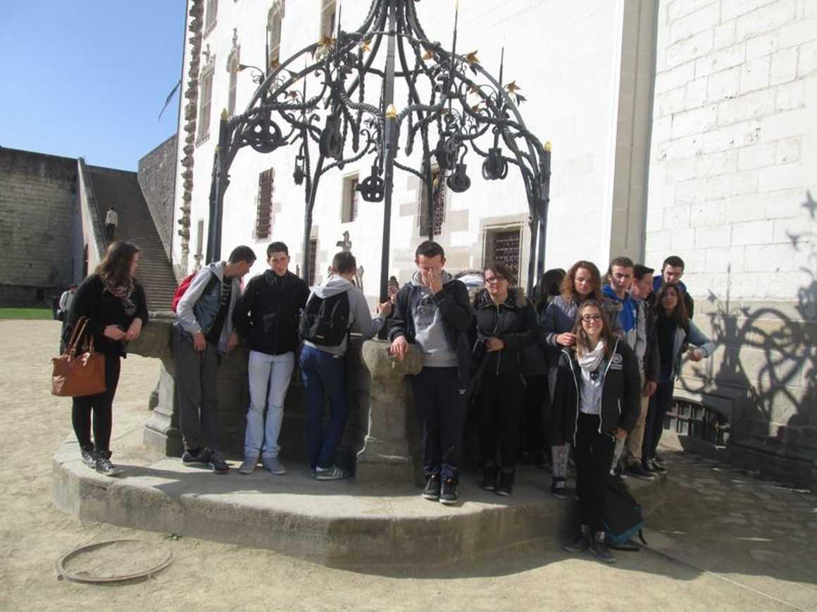 Les élèves de 3PRO ont profité de deux belles journées de voyage. img2246
