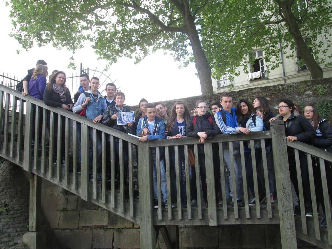 Les élèves de 3PRO ont profité de deux belles journées de voyage. img2251