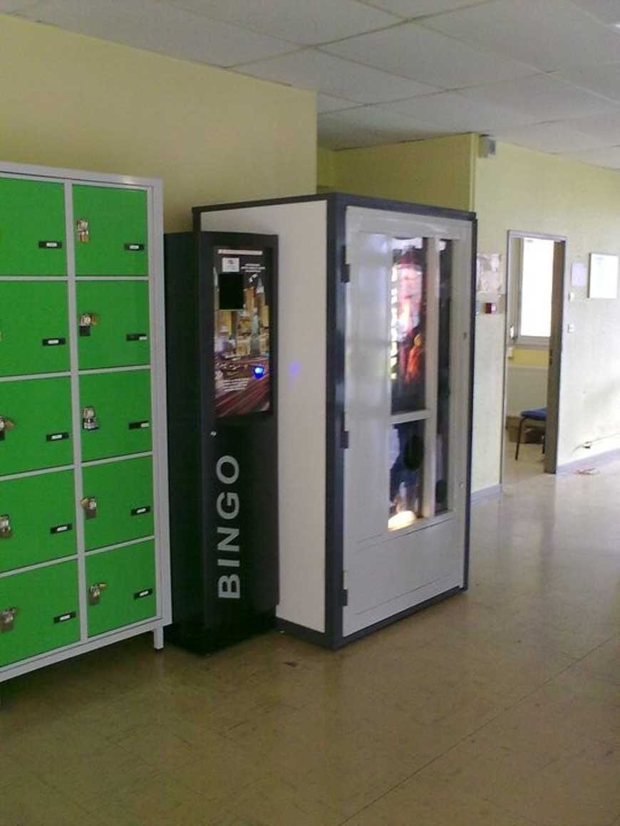Un récupérateur de Gobelets a été installé dans le hall B. 0