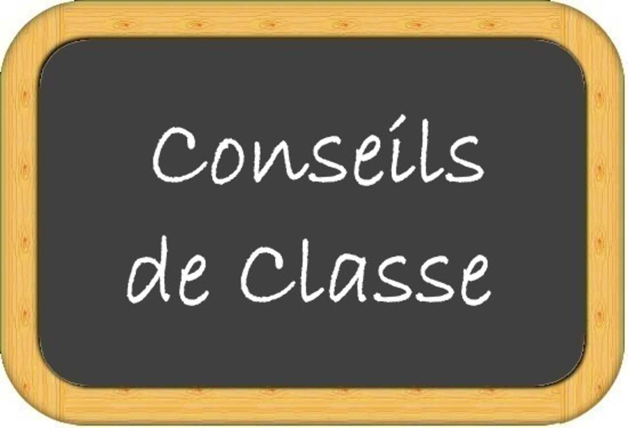 Planning des conseils de classe 0
