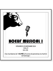 boeuf musical le vendredi 19 decembre (11h-13h)