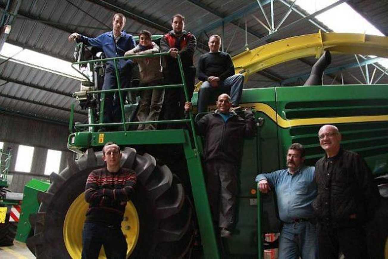 Emploi. Ils découvrent les dessous du machinisme agricole (OF) 0