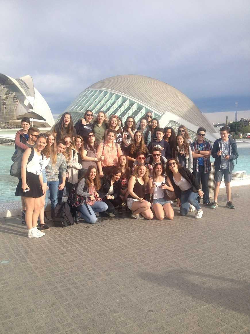 Visite au musée des sciences de Valence 0