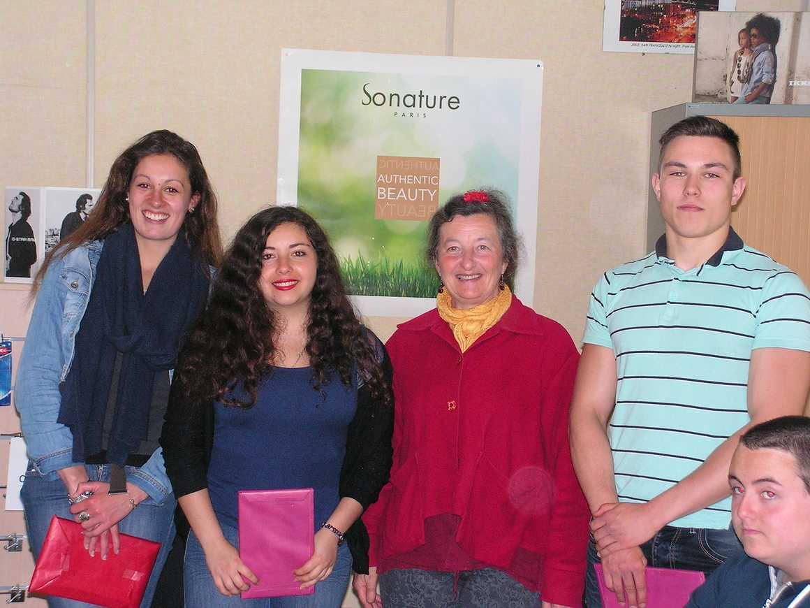 Trois élèves du lycée, lauréats du prix de Taol Kurun 0
