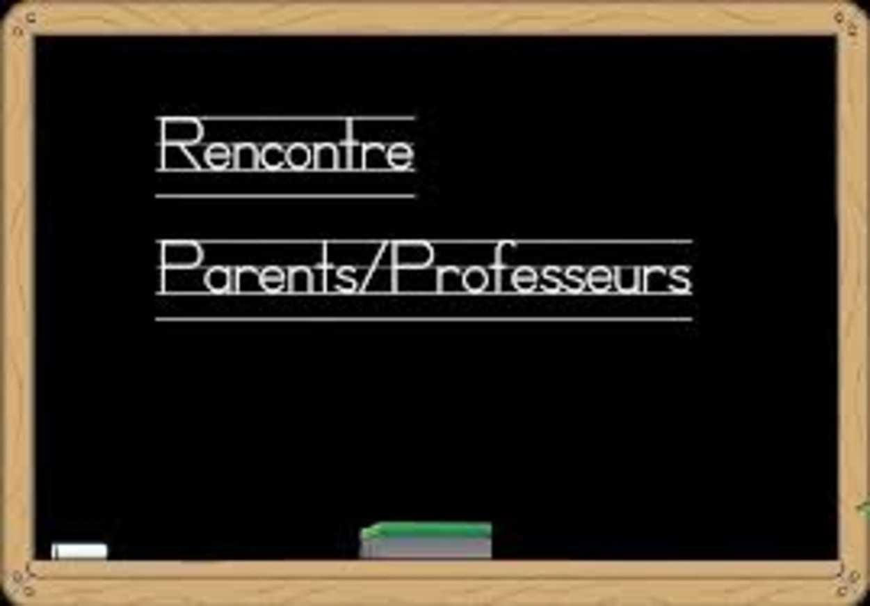 Réunion parents professeurs de la SEP 0