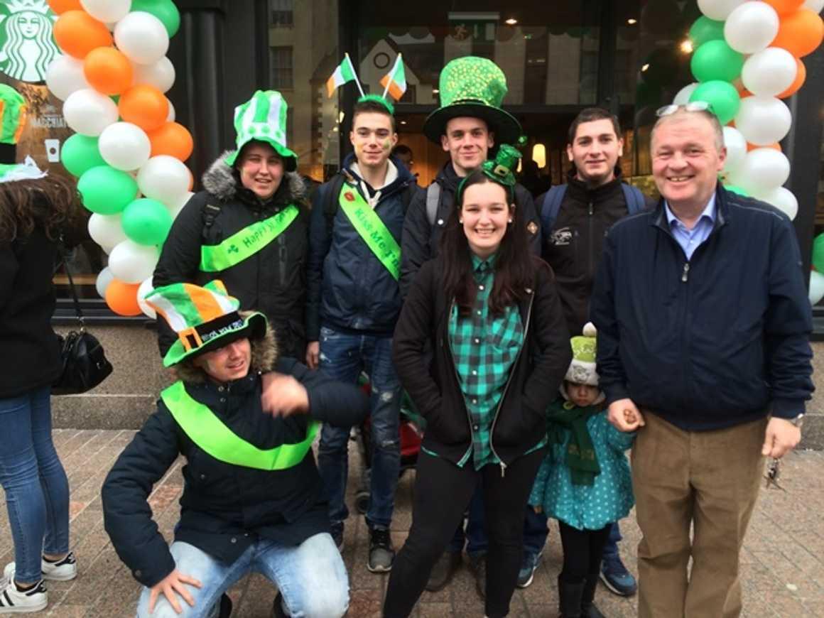 St Patrick's day in Cork 0