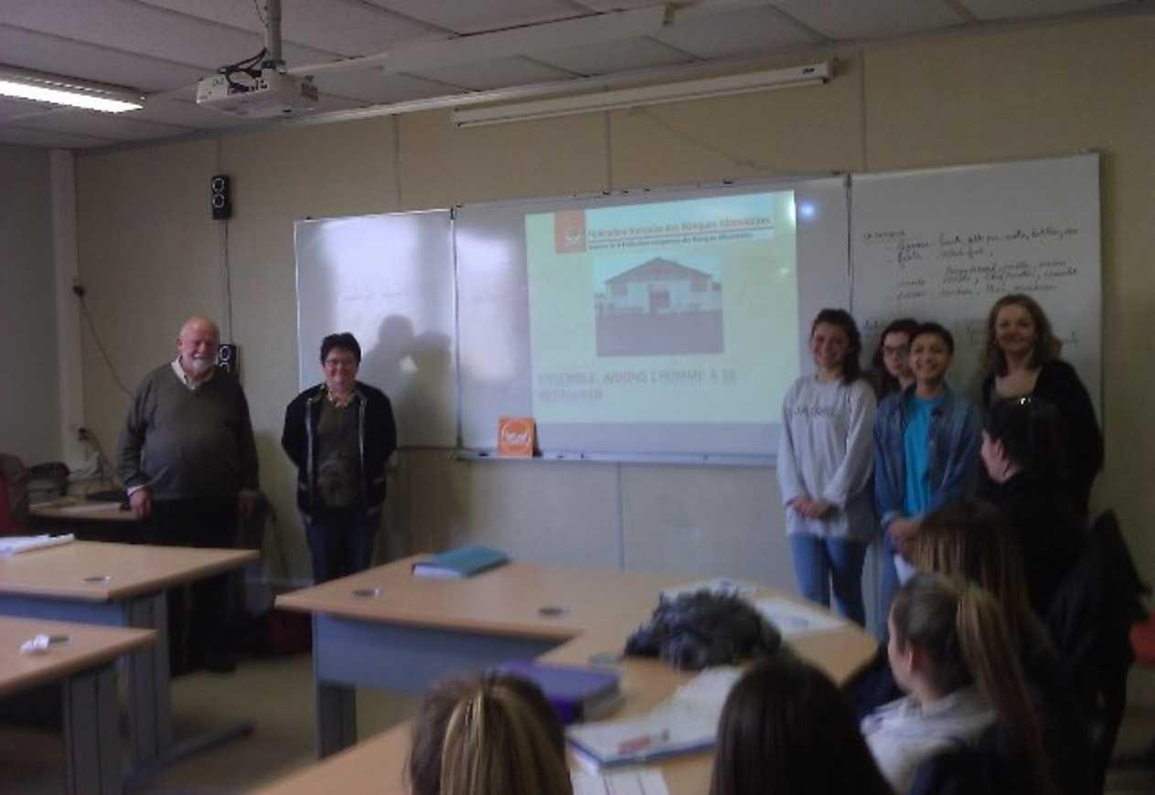 Seconde Bac Pro Commerce et Gestion-administration… Jeunes et solidaires! benevoleseleves