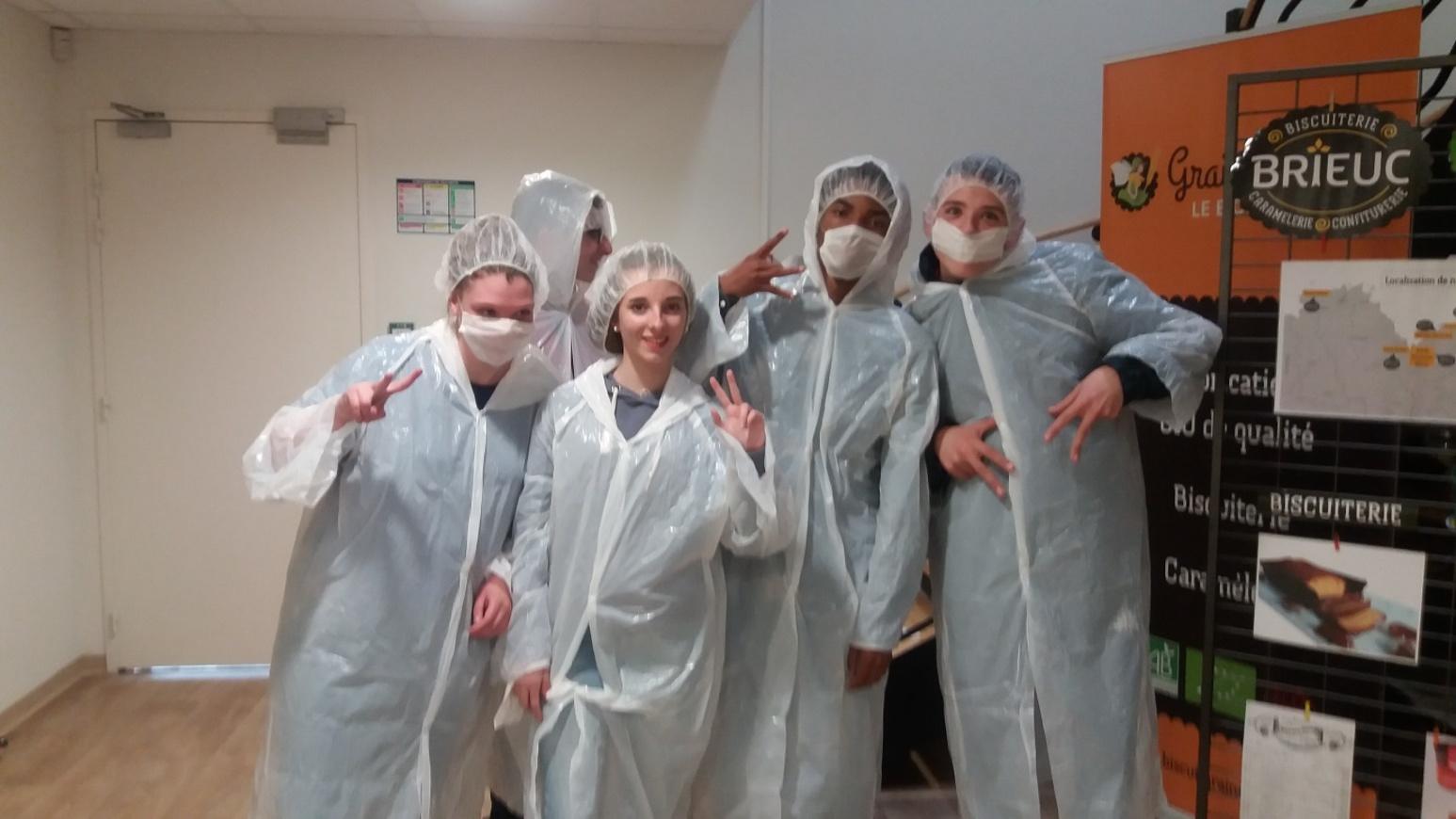 Visite d''entreprises pour nos élèves d''ULIS 0