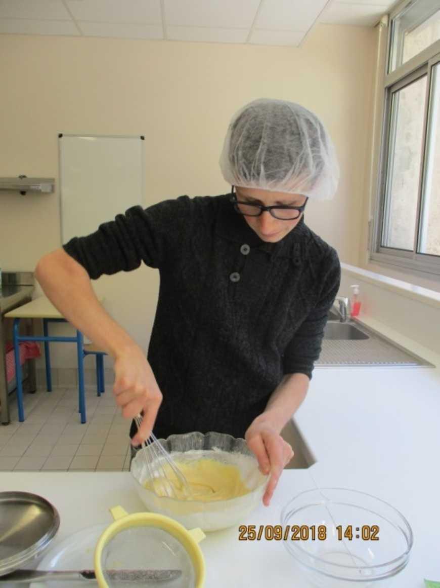 les élèves d''ULIS et les métiers de la cuisine 0