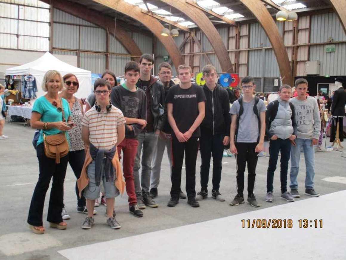 Le voyage dans le temps des élèves ULIS ulisexpo2