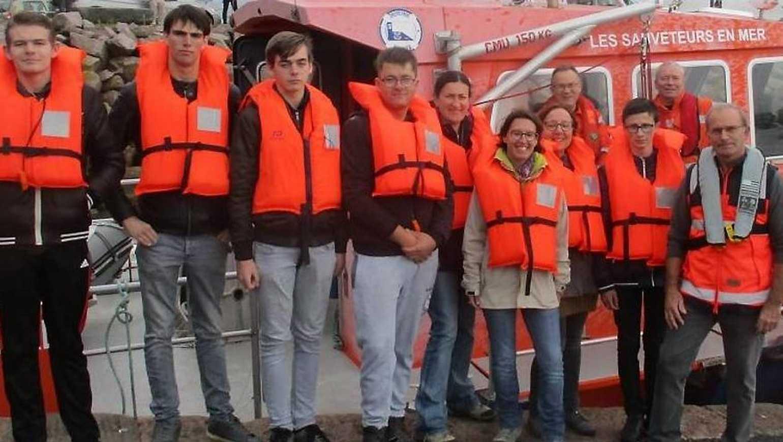 Les élèves d''ULIS découvrent le sauvetage en mer 0