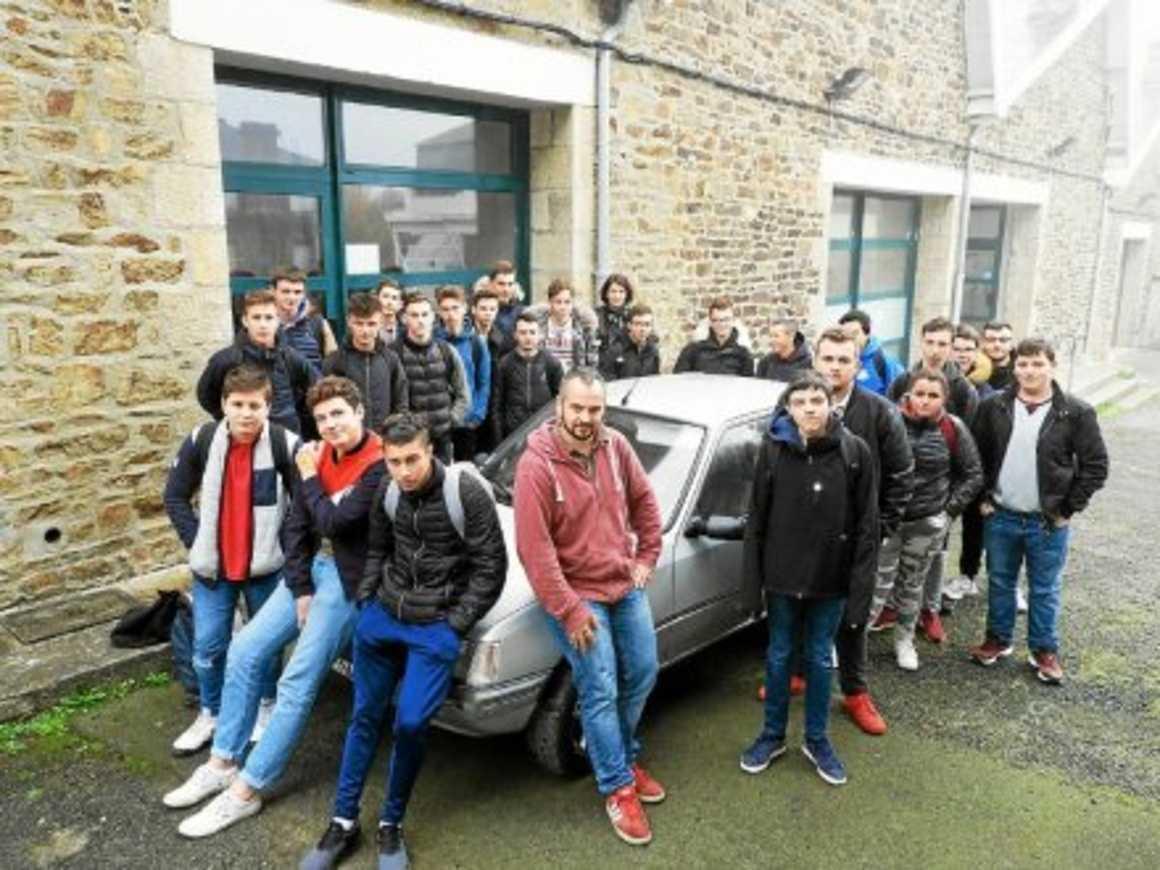 27 élèves mobilisés pour l'Europe raid 0