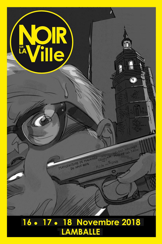 Le Lycée Henri Avril accueille un auteur de Noir sur la Ville 0