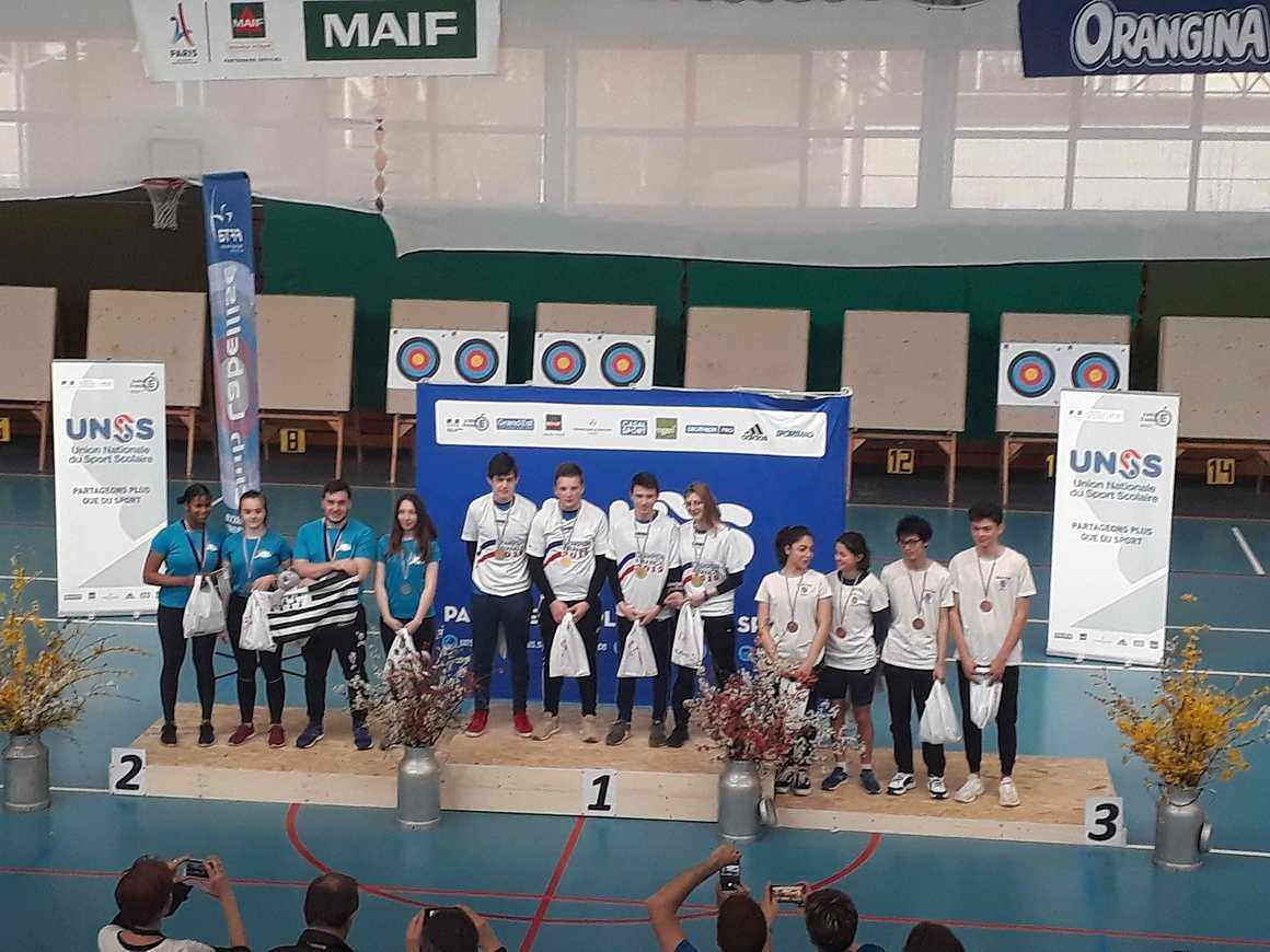 Championnat de France UNSS de Tir à l''Arc 20190322115223
