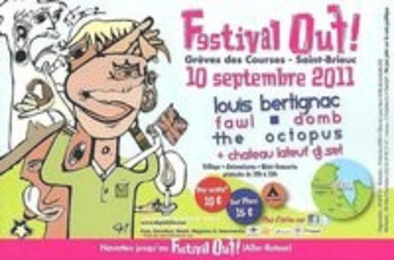 Festival Ouf : le 10 septembre. Réservez vos places.. 0