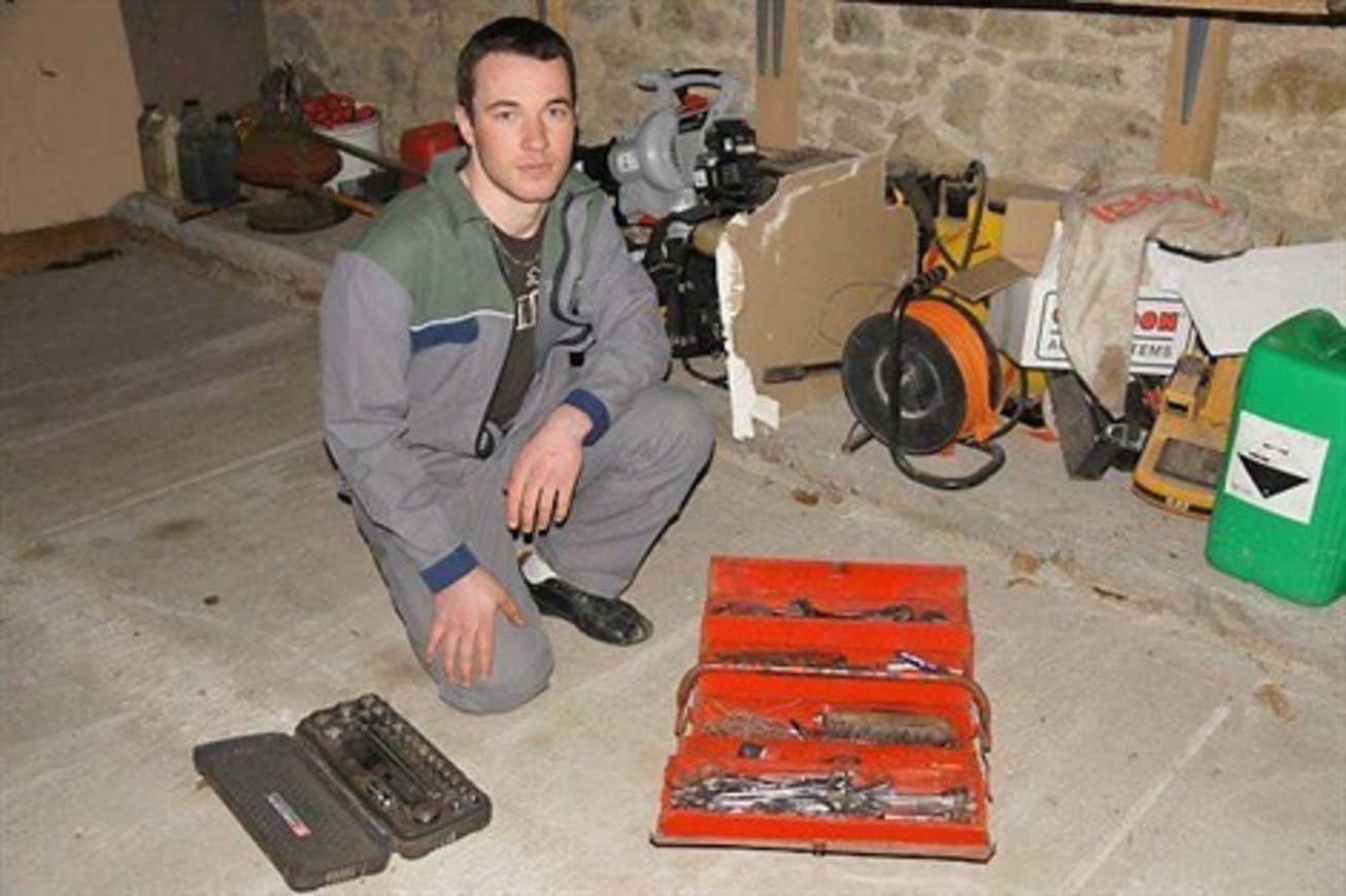 Mathieu Fraboulet : les mains d''or de la mécanique agricole (article OF) 0