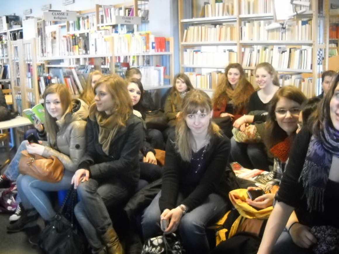 Des élèves de Herzogenrath (Allemagne) au lycée 0