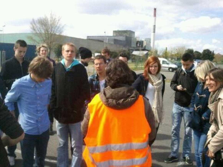 Visite de l''usine Véolia de Nantes pour les 1STG1 0