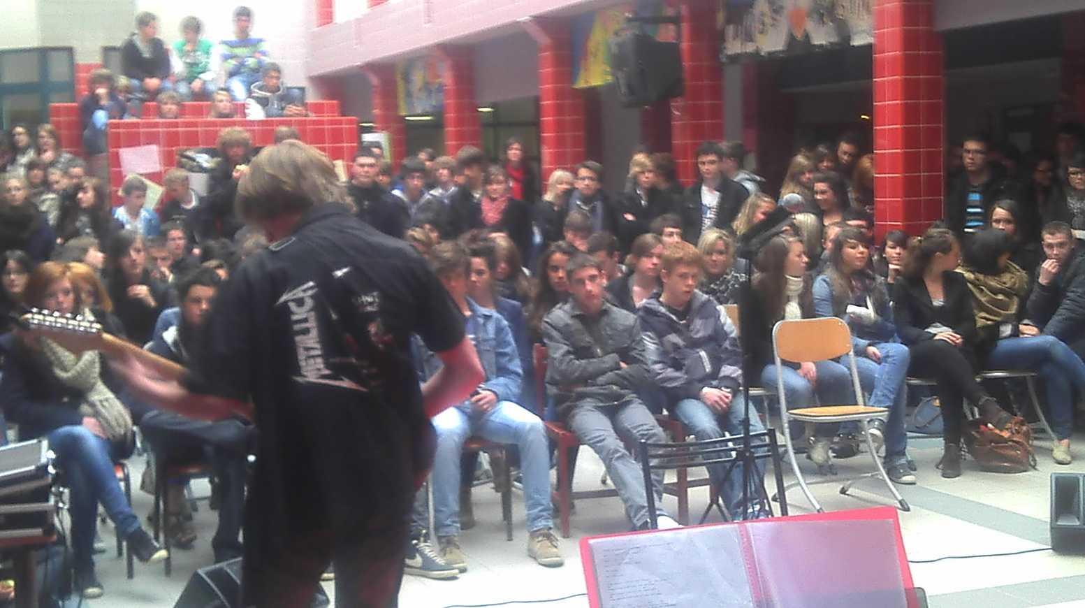 Diplôme de l''engagement lycéen et boeuf musical 2012-04-0612-10-16373