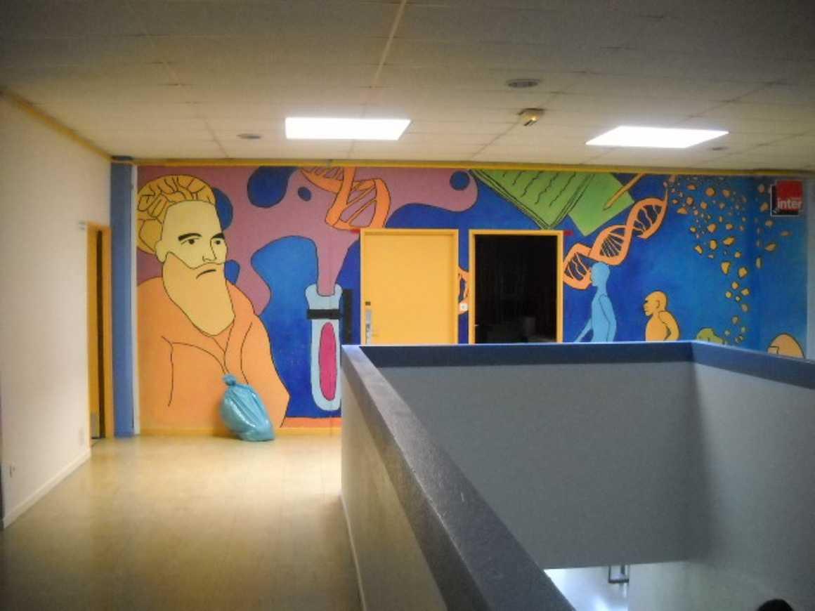 Les couloirs ont pris de jolies couleurs pendant l''été dscn3029