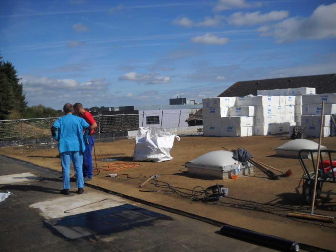De nouveaux travaux sur les toitures du lycée 0