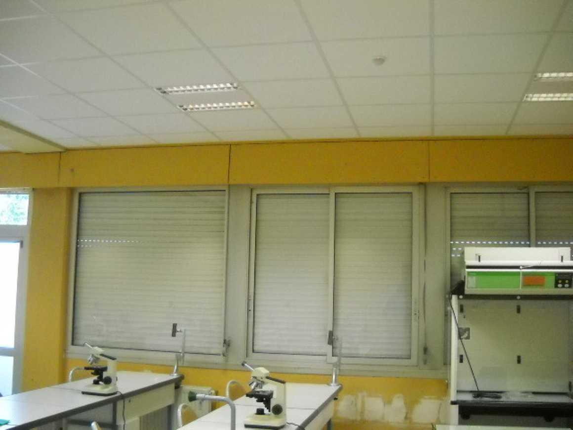 Des lampes qui détectent la présence dans les nouvelles salles de sciences 0