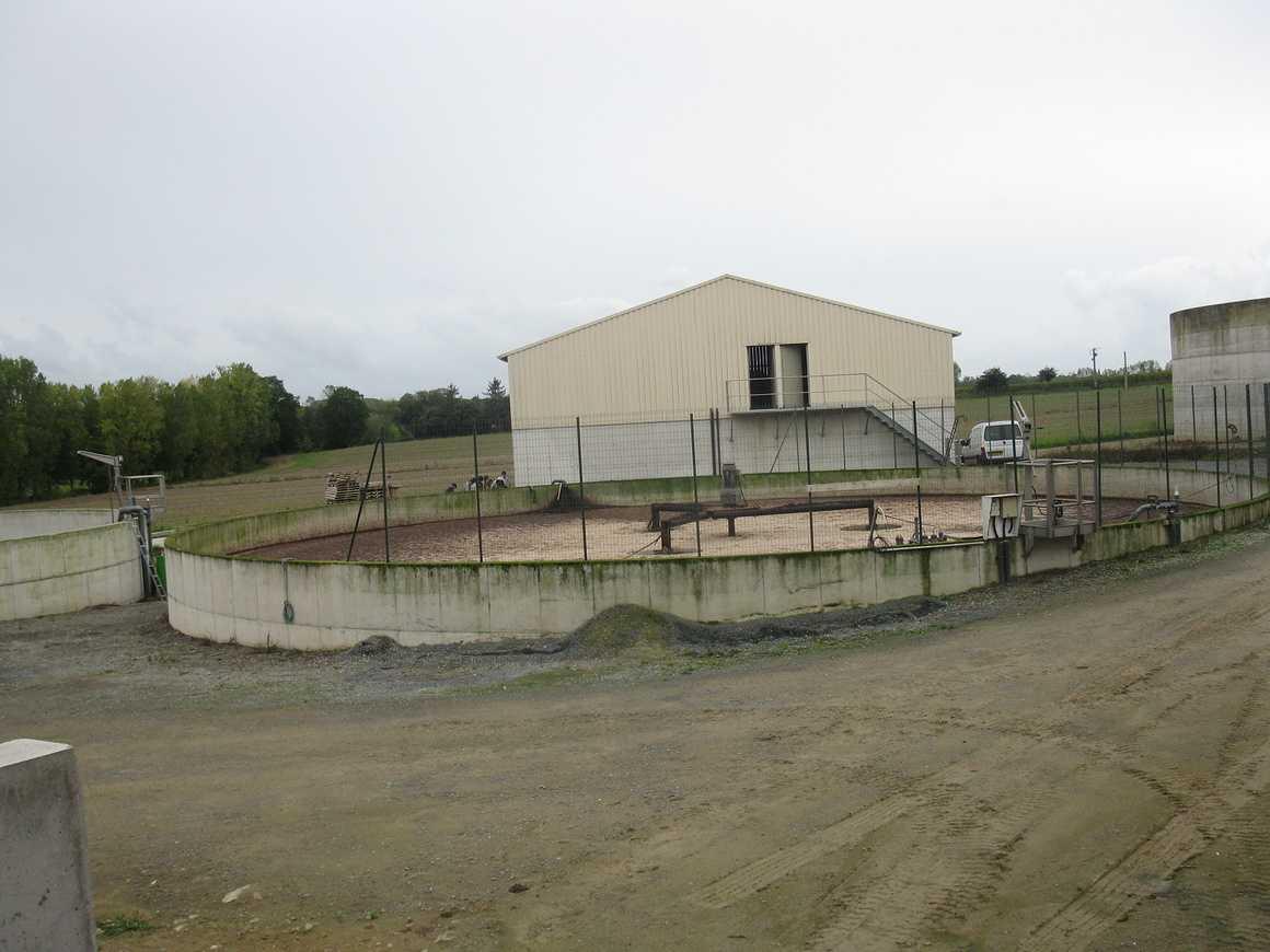 Les 1S3 ont visité un élevage de porc et la station de traitement des effluents sortie1s32012020