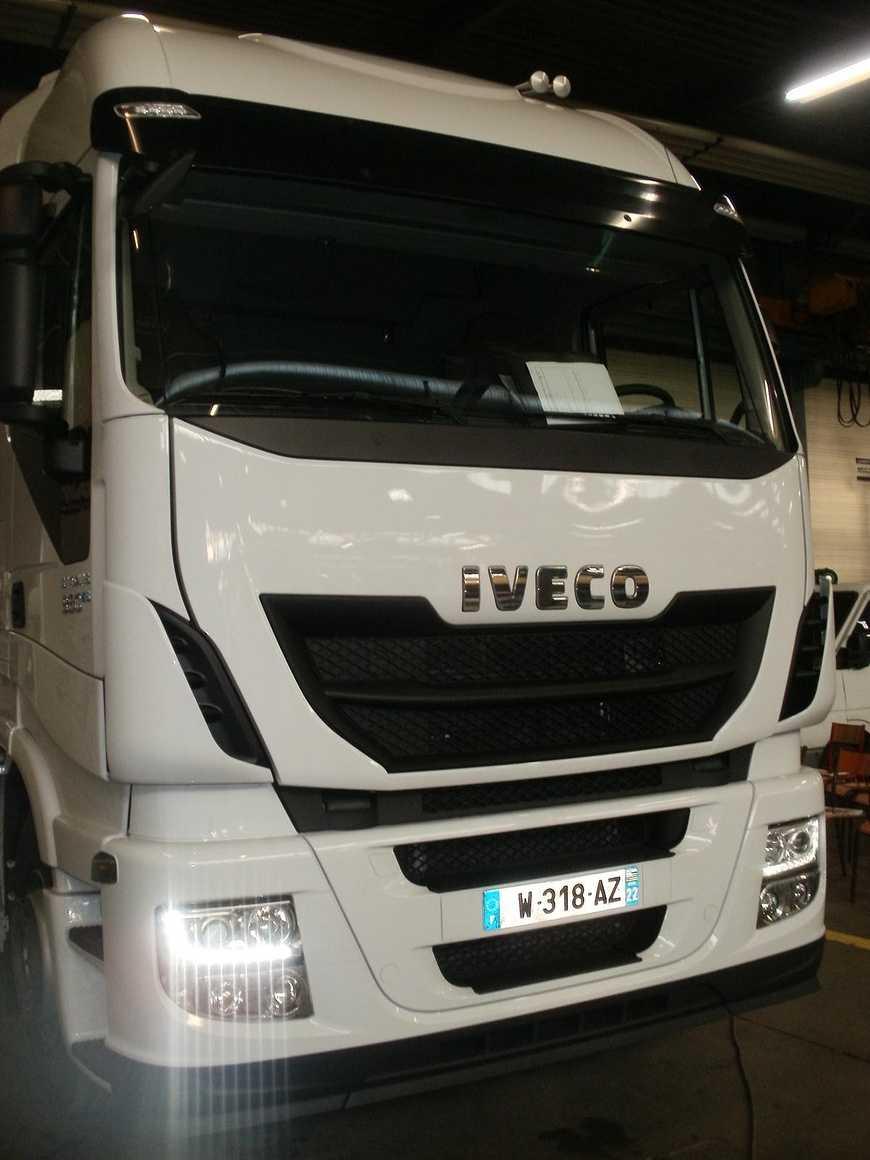 Les VI ont découvert et accueilli de nouveaux camions 823