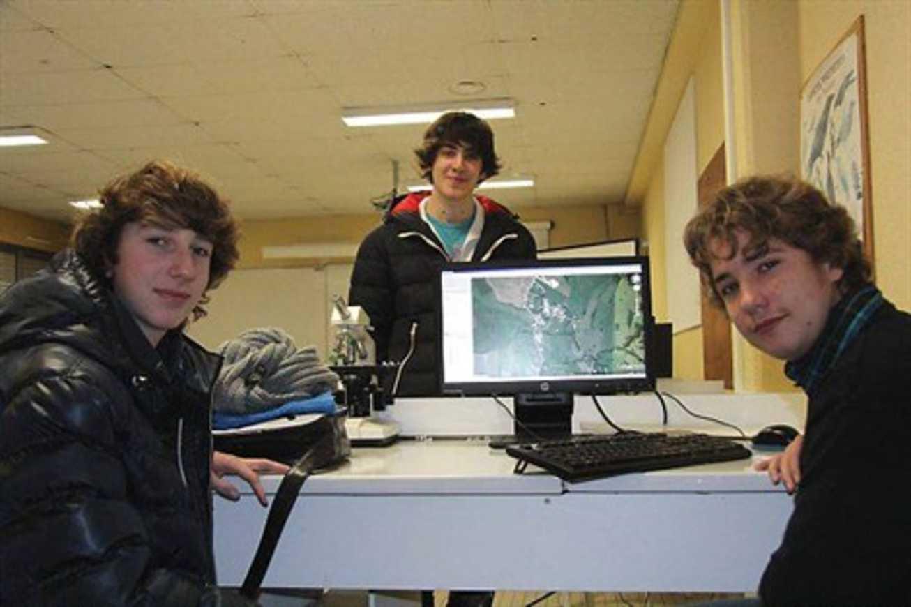 Des élèves d''Henri-Avril en voyage pédagogique (article de Ouest France) 0