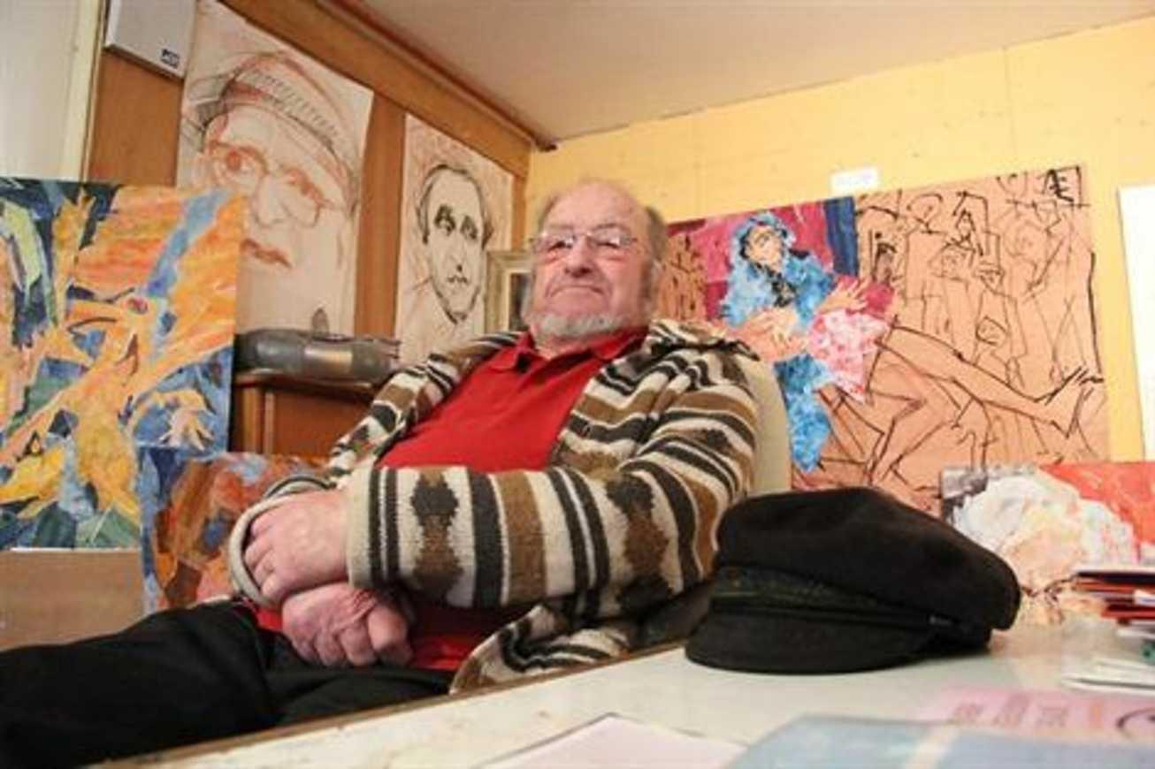 À 83 ans, Henri Yvergniaux consacre sa vie à la peinture (OF) 0