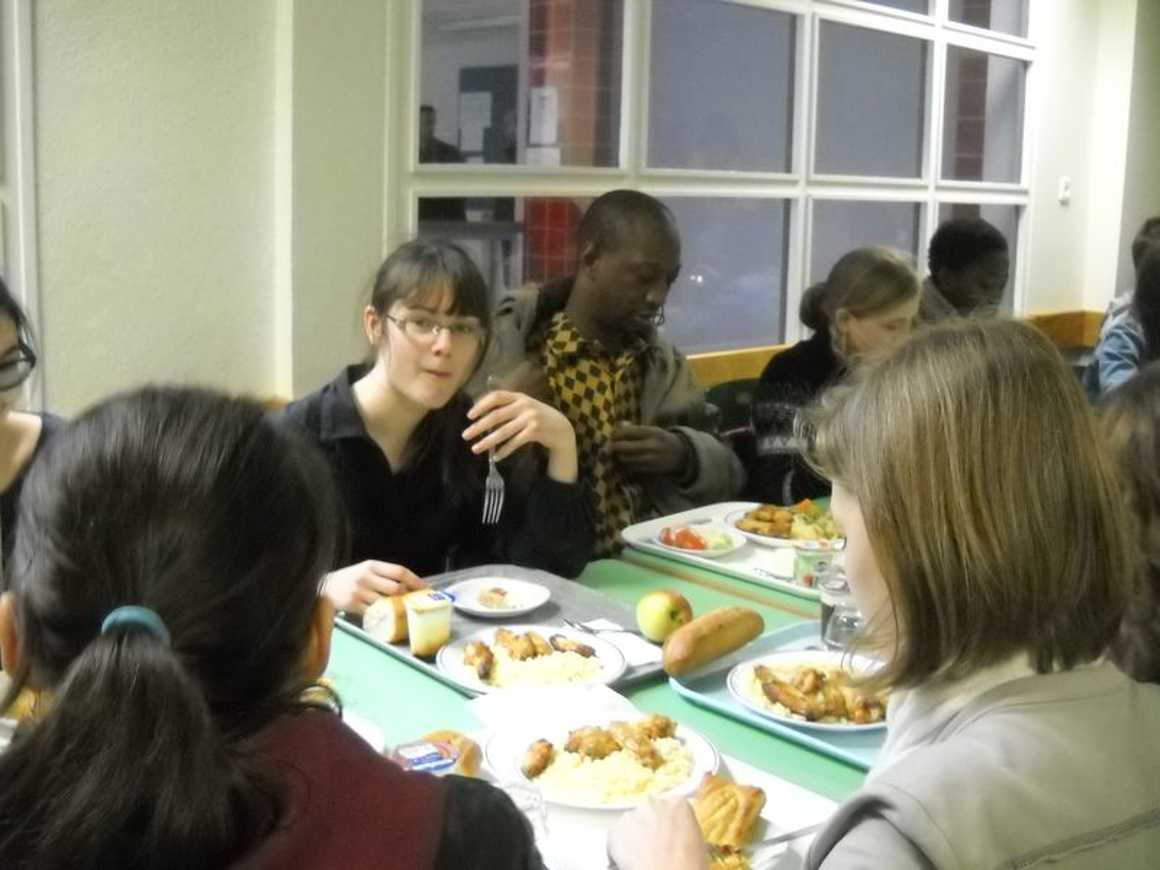 Mamadou Bâh a rencontré les élèves du club ''''Les Ptits du Mali'''' dscn4099