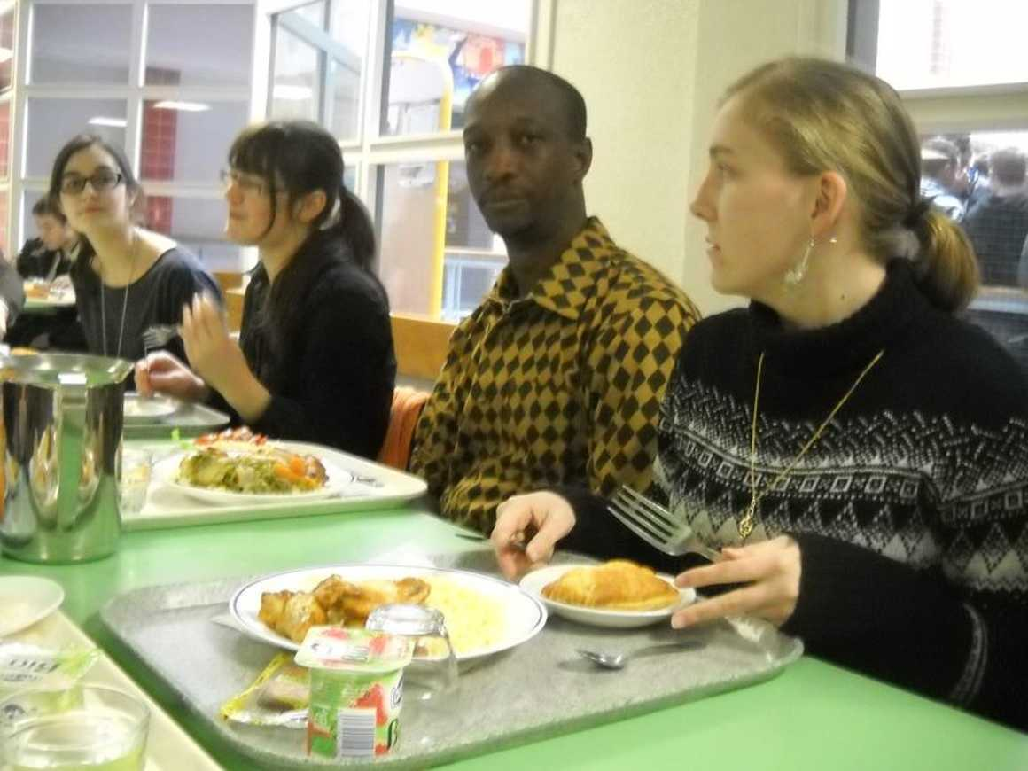 Mamadou Bâh a rencontré les élèves du club ''''Les Ptits du Mali'''' 0
