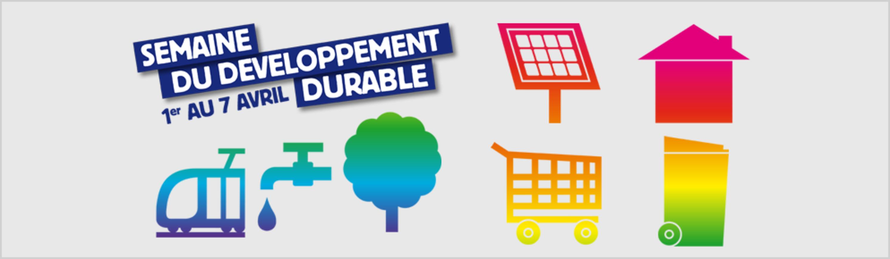 Programme de la semaine du développement durable 0