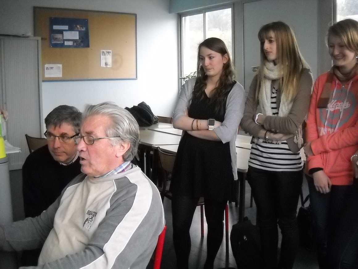 Michel Rault et les élèves de l''option gallo montent un film 0