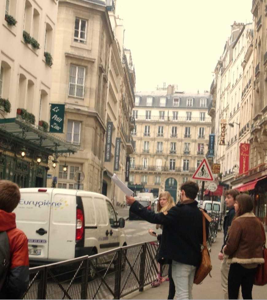 St Germain des Près : parcours sociologique 0