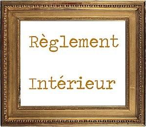 Le r glement interieur a t mis jour for Le reglement interieur