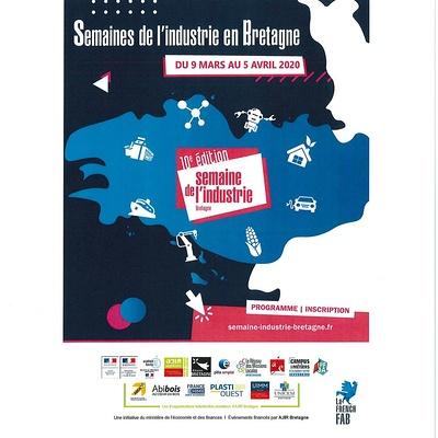 10ème édition de la Semaine de l''Industrie en Bretagne