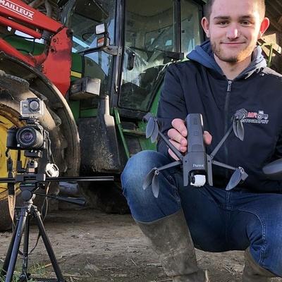 A 17 ans, Maël filme le monde agricole
