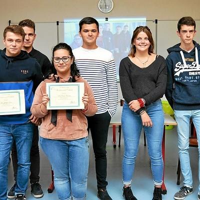 Cinq lycéens d''Henri AVRIL en stage en Irlande