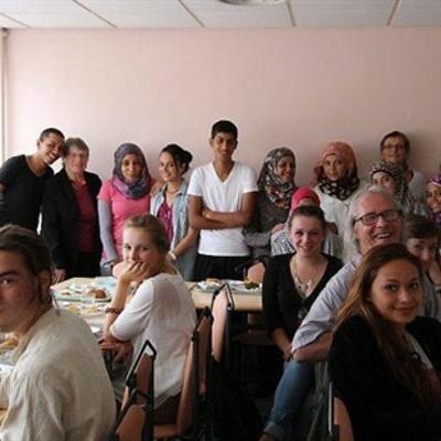 Journée d''échanges entre Palestiniens et lycéens (OF)